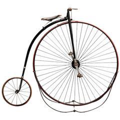 1800s High Wheel Bicycle