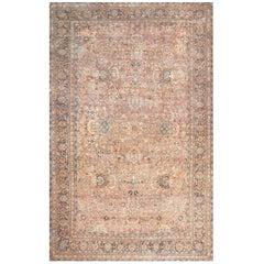 Large Antique Oversize Persian Kerman Rug