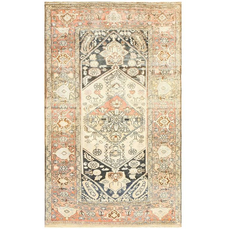 Small Antique Persian Malayer Rug 1