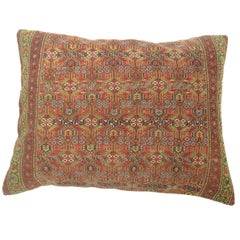 Tribal Antique Persian Floor Pillow