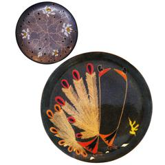 Pair of Enameled Copper Pieces by Miguel Pineda, circa 1960