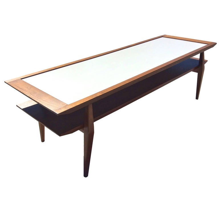 Gio Ponti for M. Singer & Son's Bi-Level Cocktail Table For Sale