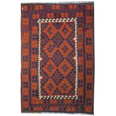 Traditional Kllim Rugs from Afghanistan with Persian Rugs Geometrical  Designs