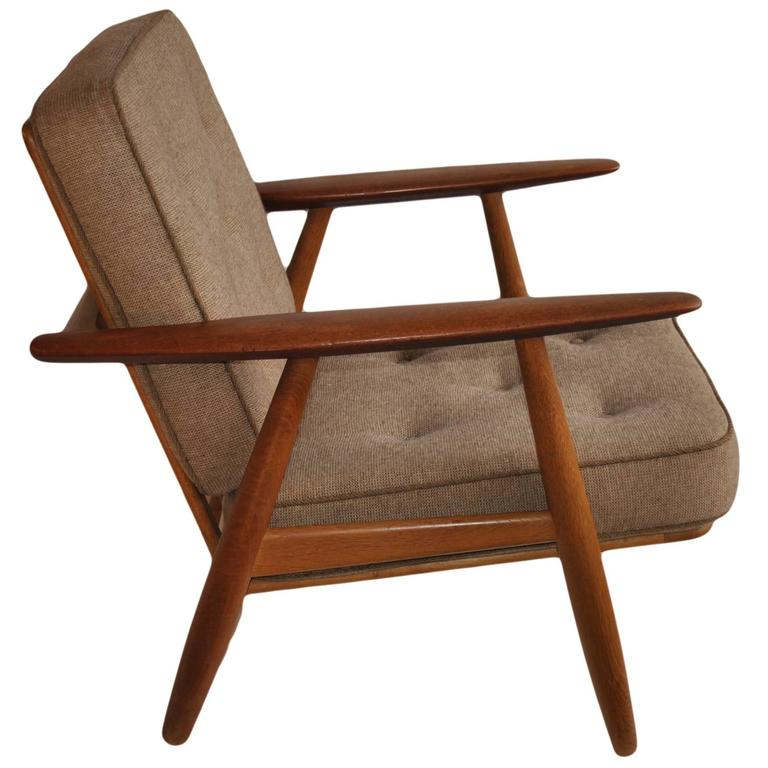 Hans J Wegner GE240 Cigar Chair, Original GETAMA Model For Sale