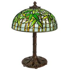 "Tiffany Studios ""Bamboo"" Table Lamp"