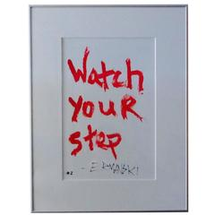"""Painting """"Watch Your Step"""" by Brian Ermanski"""