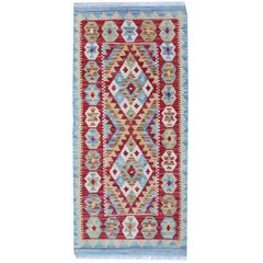 Blue Rug New Kilim Rugs, Traditional Rugs, Carpet from Afghanistan