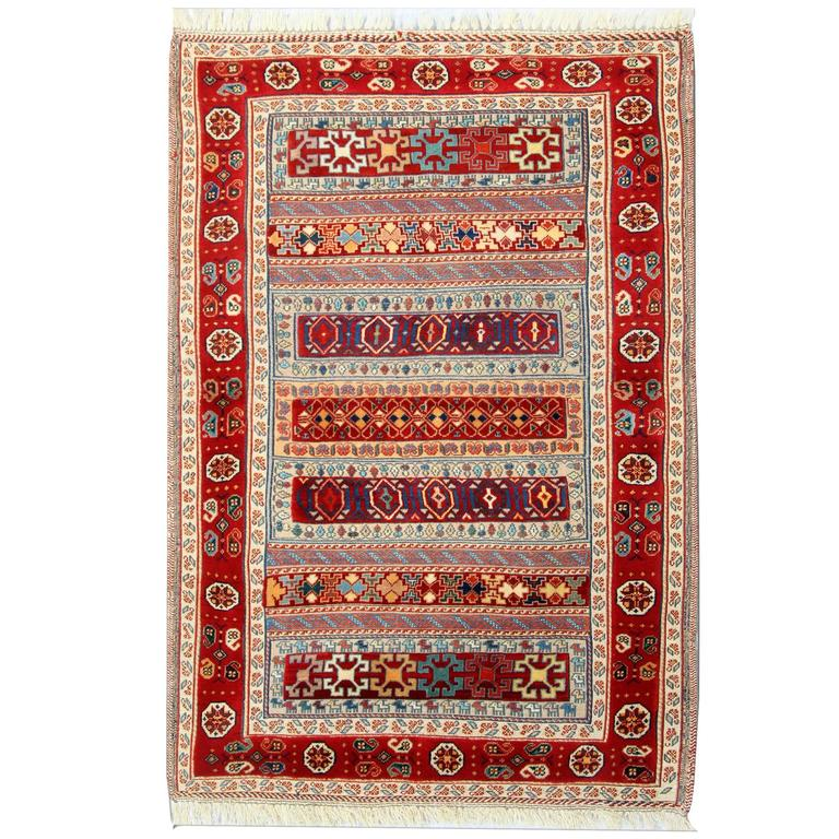 New Persian Kilim Rugs, Traditional Rugs, Carpet, Kilim rug- Persian Sumak (c.20