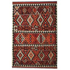 New Traditional Kllim Rugs from Afghanistan, Geometrical Persian Rugs Designs