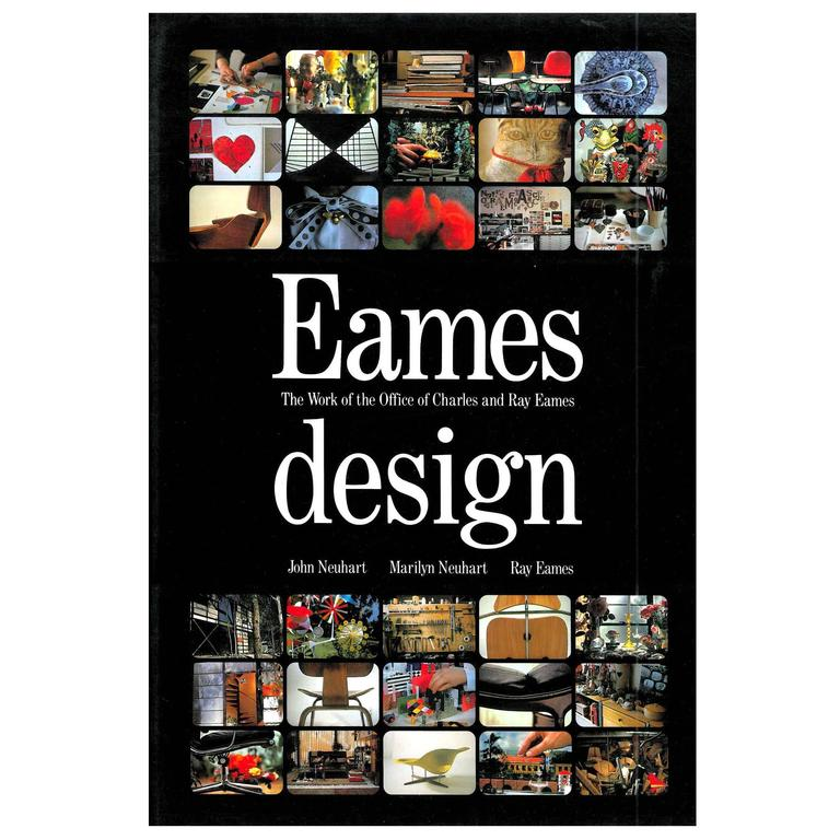 Eames design the work of the office of charles and ray for Office design book