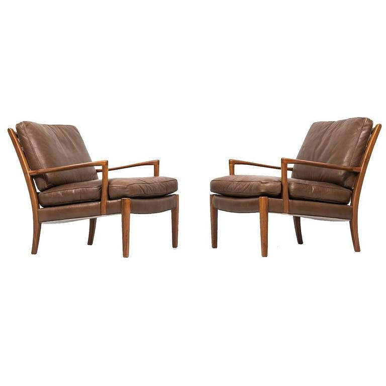Arne Norell Easy Chairs Model Löven by Arne Norell AB in Sweden For Sale  sc 1 st  1stDibs & Arne Norell Easy Chairs Model Löven by Arne Norell AB in Sweden For ...