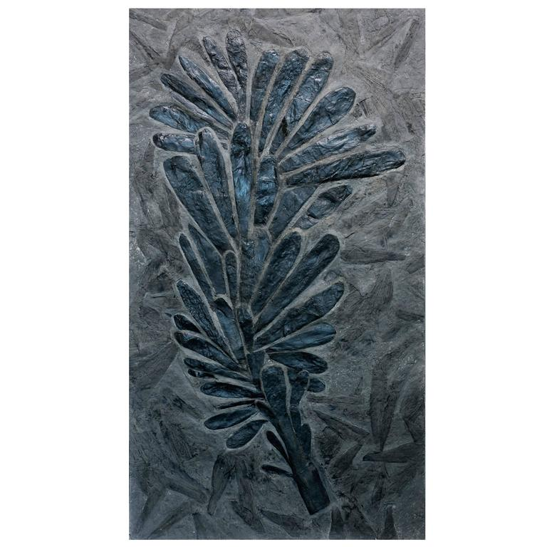 Exceptional Fossil Fern Tree, Monceau Les Mines, France 1