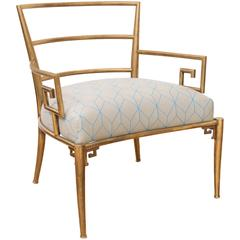 Brass Italian Armchair