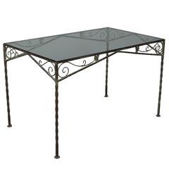 Mid-Century Garden Table