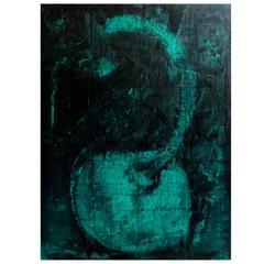 """Aaron Fink """"Green Cherry,"""" 1986"""