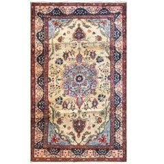 "Antique Persian Tabriz Carpet, 6'6"" x 10'7"""