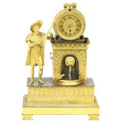 Fine Ormolu Mantel Clock by G. Jameson