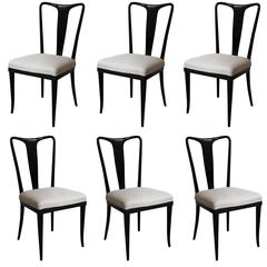 Set of Dining Chairs by Guglielmo Ulrich