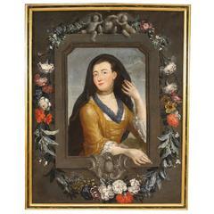 18th Century Lady Portrait Painting