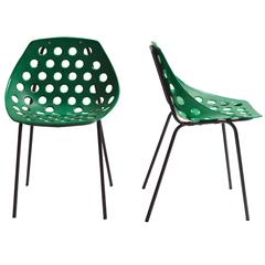 Pair of Guariche Style Chairs
