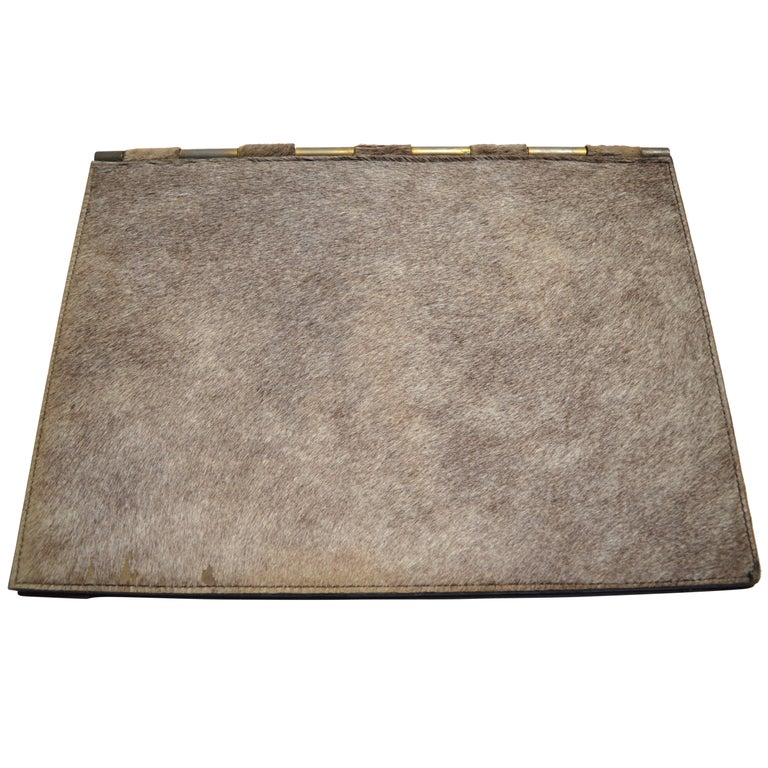 French Horse Hair Desk Pad