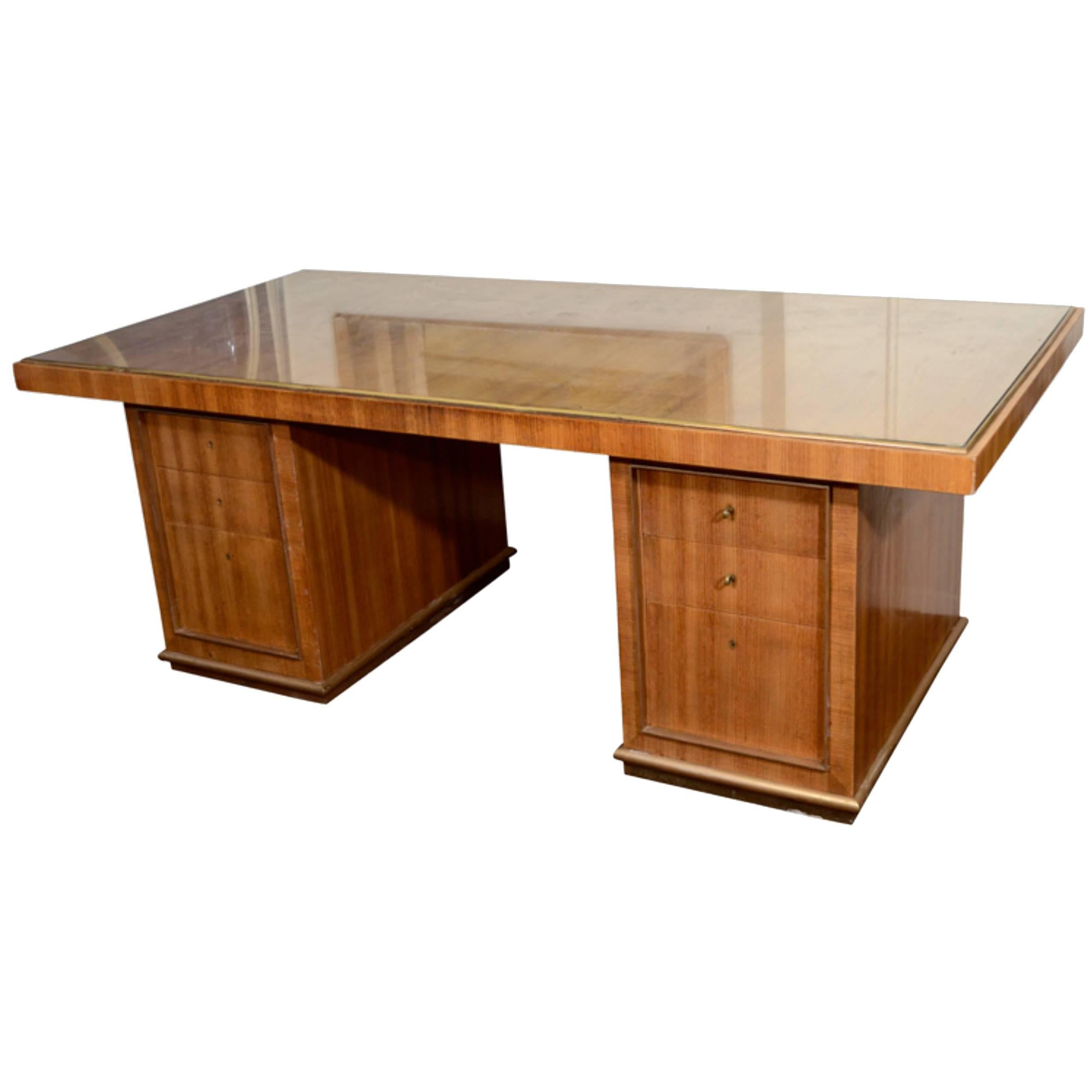 Desk by Jean Royère, France, 1940's