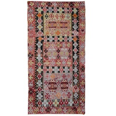 Antique Rugs, Turkish Kilim Rugs, Handmade Carpet, Oriental Rugs for Sale