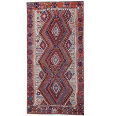 Antique Carpet, Anatolian Turkish Kilim Rugs, Turkish Rug from Anatolia