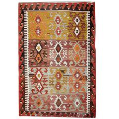 Antique Kilim Rugs, Traditional Rugs, Turkish Carpet from Anatolia