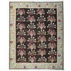 Handmade Antique Geometric Bessarabian Rug, Carpet Rugs, Vintage Kilim Rugs