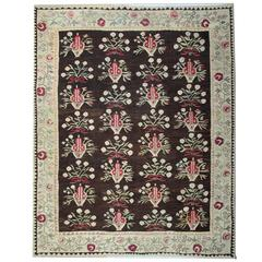 Antique Geometric Bessarabian Rug, Carpet Rugs, Vintage Kilim Rugs