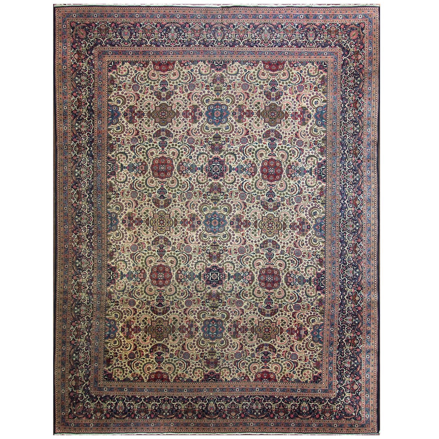 Persian Dabir Kashan For Sale At 1stdibs