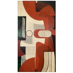 Nerone Giovanni Ceccarelli Extra Large Oil Painting, 1993, Italy