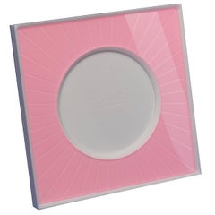 Italian Modern Design  Plexiglass Picture Frame, Sharing Pink