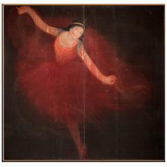 Japanese Screen: The Dancer
