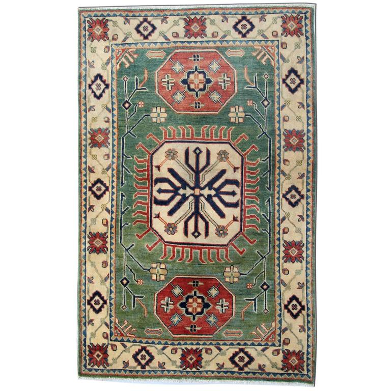 Kazak Style Rugs, Carpet From Afghanistan For Sale At 1stdibs