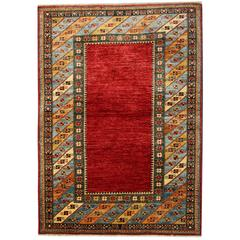 Afghan Rugs, Kazak Rugs, Red Rug from Afghanistan
