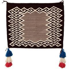 Native American Sunday Saddle Blanket Navajo, circa 1930