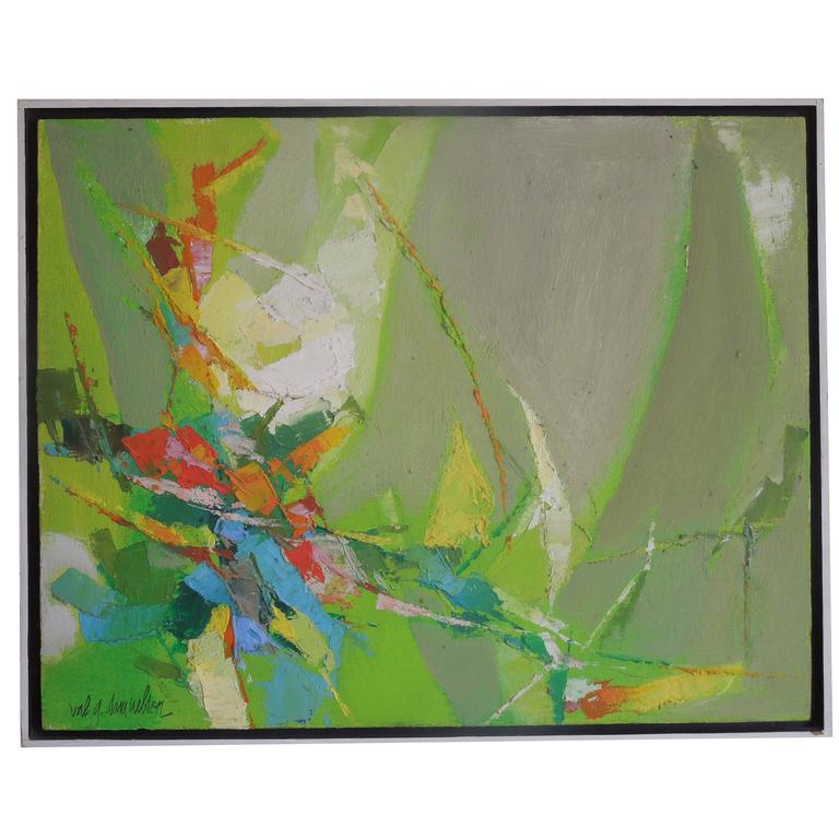 Palm Springs Mid-Century Modern Abstract by Val Samuelson