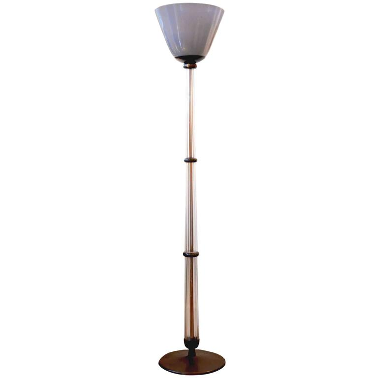 1930 floor lamp by tomaso buzzi for venini for sale at 1stdibs for 1930 floor lamps