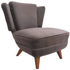 Unique Lounge Chair by John Graz. Brazil, 1960s