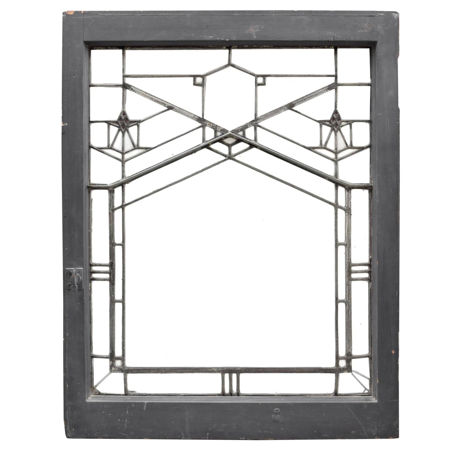 Frank Lloyd Wright Window From The Bradley House In Kankakee Il 1900 For Sale At 1stdibs
