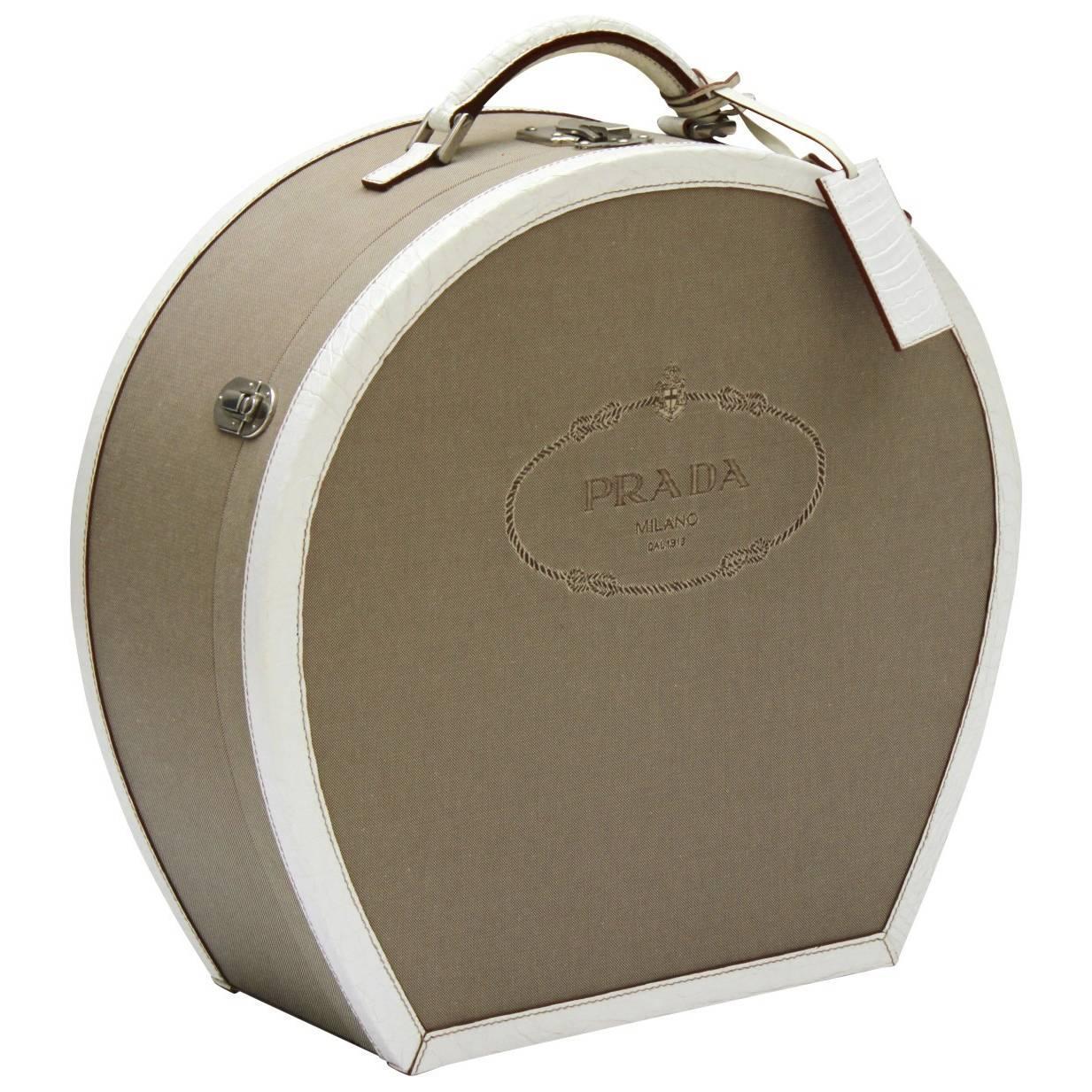 Vintage Inspired Prada Hatbox Made In 2012