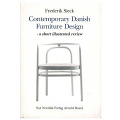 Contemporary Danish Furniture Design 'Book'