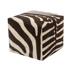 African Zebra Cube, Ottoman