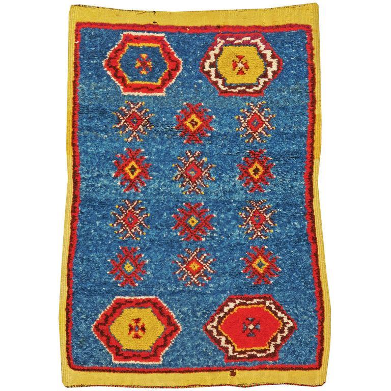 Vintage Moroccan Berber Rug