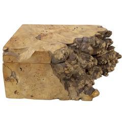 Handcrafted Burlwood Jewelry Box by Michael Elkan