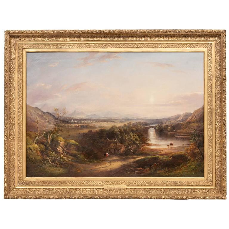 The Ford, by Thomas Creswick For Sale