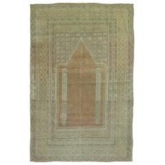 Antique Turkish Sivas Prayer Carpet