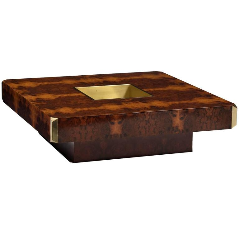 Willy Rizzo Alveo Coffee Table At 1stdibs